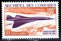 Comore-0014 - Valori Di Posta Aerea 1969 (++) MNH - Senza Difetti Occulti. - Nuovi