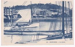14  Calvados -  HONFLEUR - Les Quais - Honfleur