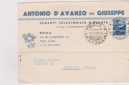 Cartolina Postale Intestata 1950 - 6. 1946-.. Repubblica