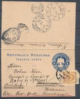 MEXICO - TARJETA CARTA 1904 - Mexico