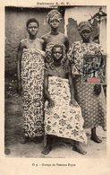 Dahomey Et Dépendances,Cpa Groupe De Femmes Popos - Dahomey