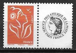 France 2005 N° 3741A Neuf** Avec Vignette Cote 4 Euros - Personalisiert