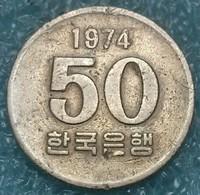 South Korea 50 Won, 1974 -4444 - Korea (Zuid)