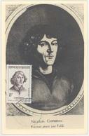 France 1132 Copernic Carte Maximum (card) - Astrologie