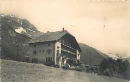 LES CONTAMINES MONTJOIE - L'hôtel Du Bonhomme ,la Bérangère Et Le Col Du Bonhomme. - Other Municipalities