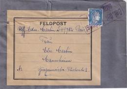 "ALLEMAGNE ETIQUETTE DE COLIS ""BEI DER FELDPOST EINGELIEFERT"" - Germany"