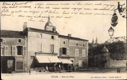 Cp Etain Meuse, Rue Du Pont - Autres Communes