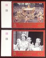 British Antarctic Territory BAT 2003 Coronation Anniversary MNH - Unused Stamps