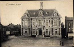 Cp Fresnes Meuse, La Mairie - France