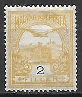 HONGRIE   -   1908 .   Y&T N° 73 * - Nuevos