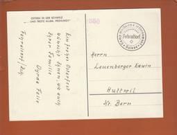 """Suisse - Carte """"Ostern In Der Schweiz"""" - Polonais - Camp De Fehraltorf 1941  -> Huttwil - Militaria"""
