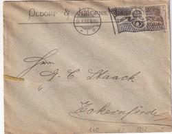 ALLEMAGNE 1903 LETTRE DE LÜBECK - Germania