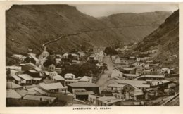 SAINT HELENA - RPPC - Jamestown - Saint Helena Island