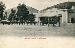 SOUTH AFRICA - RAilway Station ROBETSON  Superbly Animated View - South Africa