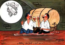 CPM - ILLUSTRATION ALEXANDRE - Thème Alcoolisme - Edition M.Vaysse - Alexandre