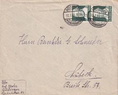 ALLEMAGNE 1935 LETTRE DE BÜDINGEN - Briefe U. Dokumente