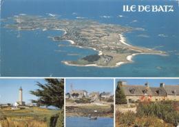 ILE DE BATZ Vue Generale De L Ile Le Phae L Eglise Et Les Vieilles Maisons 18(scan Recto-verso) MA1785 - Ile-de-Batz