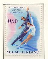 PIA - FINLANDIA - 1977 : Campionati Europei Di Pattinaggio Artistico - (Yv 766) - Pattinaggio Artistico