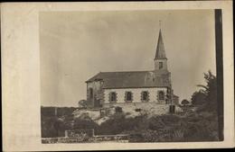 Photo Cp Bouconville Ardennes, Kirche 1917 - France