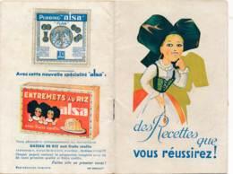 Livret-B3640 - Recettes De Cuisine ALSA Moench Nancy   ( Détails , état... Voir Scan(s) Et Description) - Books, Magazines, Comics