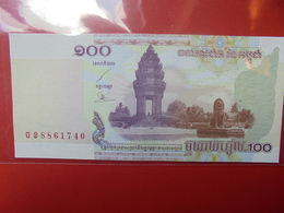 CAMBODGE 100 RIELS 2001 PEU CIRCULER - Cambodia