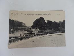 L'isle-Adam, La Passerelle Et Le Pont De Fer. - L'Isle Adam