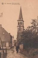 ST-Amands. Hoekje Aan De Kerk---Coin Près De L'Eglise.  Scan - Sint-Amands