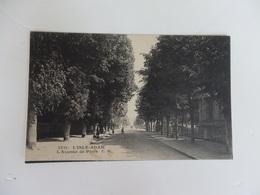 L'isle-Adam, L'Avenue De Paris. - L'Isle Adam