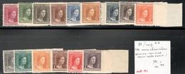 Luxemburg Yvert/Prifix 95/109** TB Sans Charnière Gomme Normal Pour Cette Serie! Cote EUR 75 (numéro Du Lot 448HL) - 1914-24 Marie-Adelaide