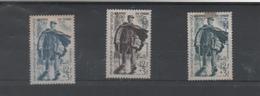 """France : Série """" Journée Du Timbre """" France , Algérie , Tunisie Timbres Neuf **/* Année 1950 - Unused Stamps"""