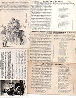 CHANSONS..PARTITIONS......LOT DE 20 CPA CPSM CPM....VOIR SCAN......VOIR DETAIL........LOT 196 - Musique Et Musiciens
