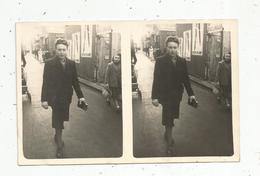 Cp,  Carte Stéréoscopique , Femme,  Vierge - Cartes Stéréoscopiques