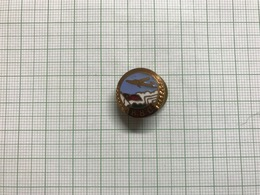 Bulgaria Air Force Old Enamel Screwed Pin Badge Anstecknadel Abzeichen 0002 - Militaria