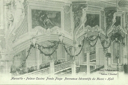 MARSEILLE - Palace Casino Prado Plage - Panneaux Décoratifs  Du Music-Hall - Marseilles