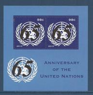 Nations Unies New York - YT Bloc N° 28 - Neuf Sans Charnière - 2010 - New York – UN Headquarters