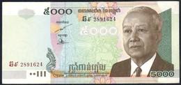 Cambodia - 5000 Riel 2007 - P55d - Cambodia