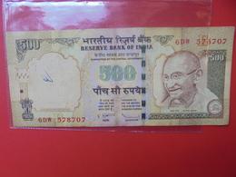 INDE 500 RUPEES 2006 Ou 2011  CIRCULER - India