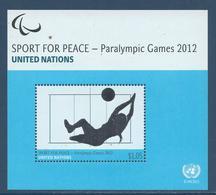 Nations Unies New York - YT Bloc N° 30 - Neuf Sans Charnière - 2012 - New York – UN Headquarters