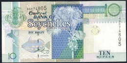 Seychelles - 10 Rupees / Roupi 2008 - P36b - Seychelles
