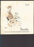 Poupée Bleuette / Catalogue Accessoires Hiver 1934/35 / Semaine De Suzette Ed Gautier Languereau - Books, Magazines, Comics