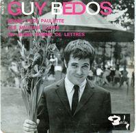 Disque De Guy Bedos - Bonne Fête Paulette - Barclay 70672 M - 1964 - - Humor, Cabaret