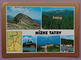 NIZKE TATRY - CESKOSLOVENSKO - Slovensko Slovacchia - Multiview - Vg - Slovacchia