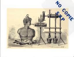 * *  Images Des Sciences * * N° 3 - L'Eolipyle, Machine à Vent Chaud - Stampe & Incisioni