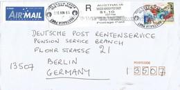 Austraila 2013 Wagga Wagga Postshop Christmas Island Meter EPOS Registered Cover - 2010-... Elizabeth II