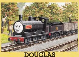 Postcard Thomas The Tank Engine & Friends Douglas   My Ref  B23649 - Games & Toys