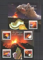 WW217 2014 NIGER NATURE GEOLOGY MINERALS & VULCOES MINERAUX & VOLCANO KB+BL MNH - Volcanos