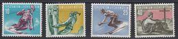 Liechtenstein 1955 Sport II Bergsteigen Und Skilaufen 4v * Mh (= Mint, Hinged) (42864A) - Liechtenstein