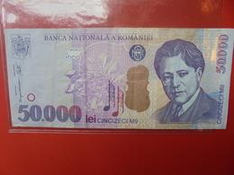 ROUMANIE 50.000 LEI 2000 CIRCULER - Romania