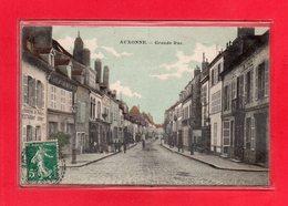 21-CPA AUXONNE - GRANDE RUE - Auxonne