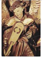 3074q: AK Musizierender Engel, Thalheimer Altar, Stuttgart- Gelaufen 1969 Nach Österreich - Heilige Stätte